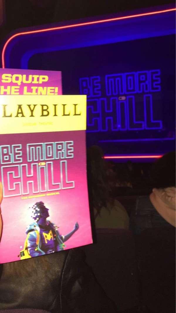 Lyceum Theatre (Broadway), secção: Orch, fila: O