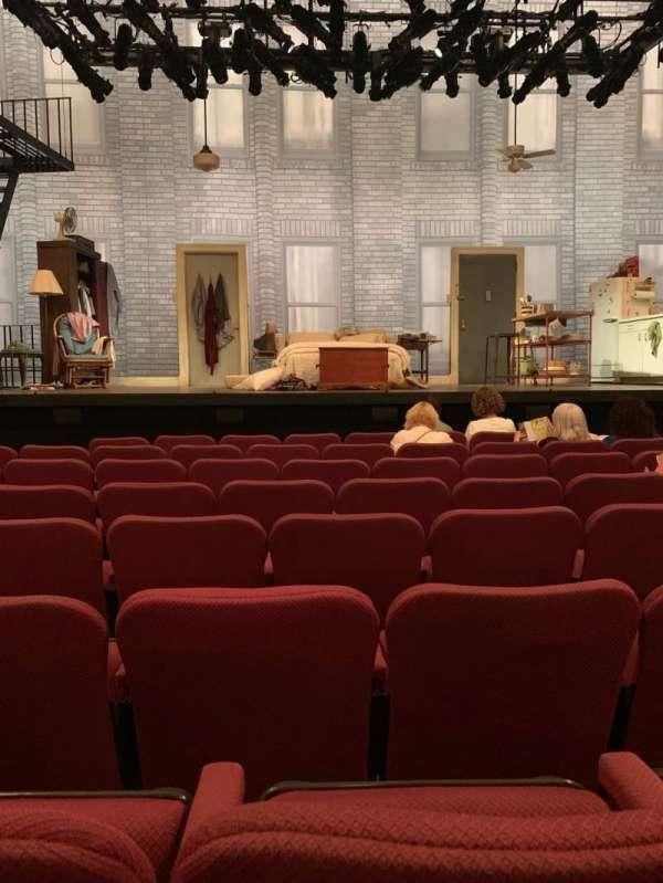 Broadhurst Theatre, secção: Orchestra C, fila: G, lugar: 107