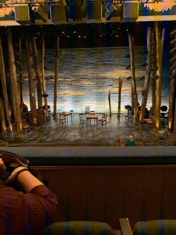 Gerald Schoenfeld Theatre, secção: Mezzanine C, fila: B, lugar: 109