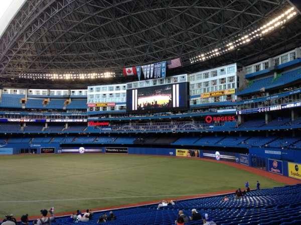 Rogers Centre, secção: 113AL, fila: 32, lugar: 101