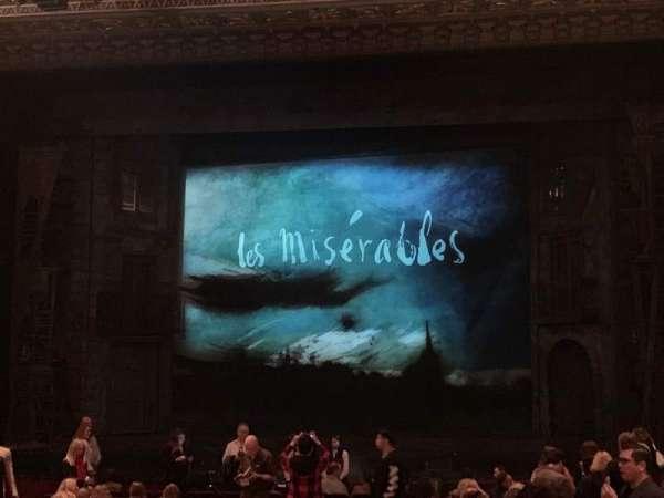 Hollywood Pantages Theatre, secção: Orchestra C, fila: V, lugar: 101