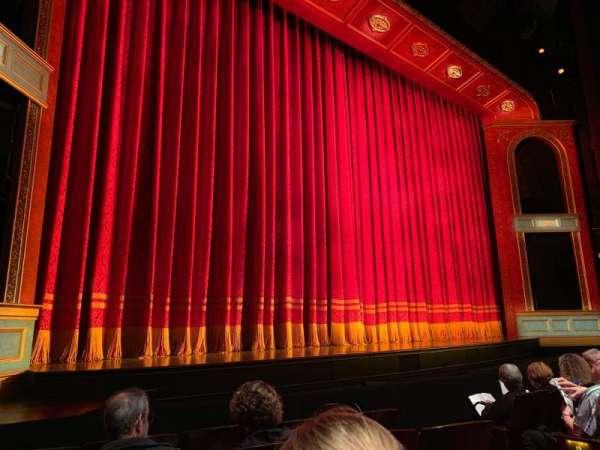 Marquis Theatre, secção: Orchestra L, fila: E, lugar: 9