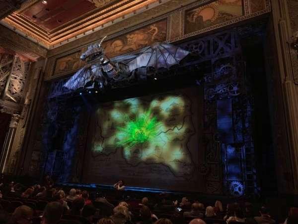 Hollywood Pantages Theatre, secção: Orchestra RC, fila: M, lugar: 212