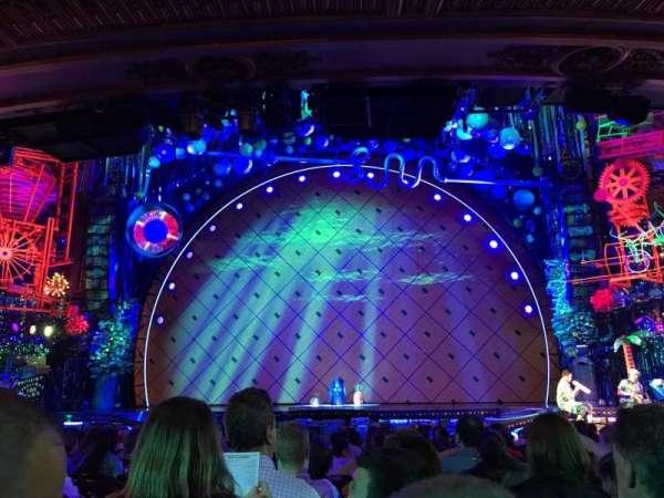 Palace Theatre (Broadway), secção: Orchestra Center, fila: Q, lugar: 104
