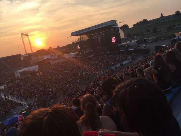 Hershey Park Stadium, secção: 28, fila: U, lugar: 13