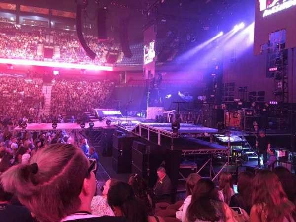 Mohegan Sun Arena, secção: 14, fila: J, lugar: 13