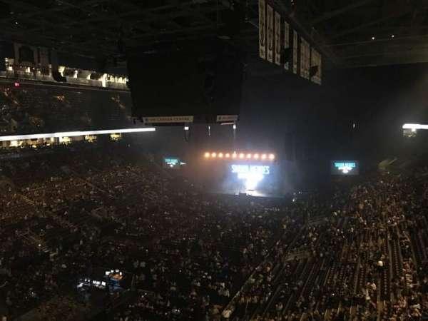 Scotiabank Arena, secção: 301, fila: 4