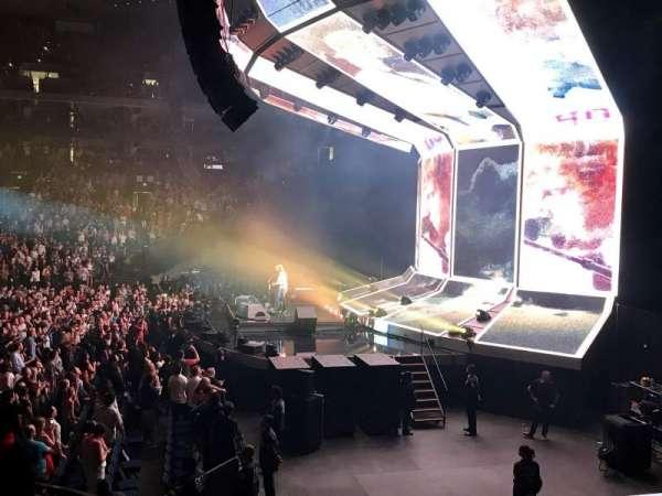 Oracle Arena, secção: 126, fila: 11, lugar: 1