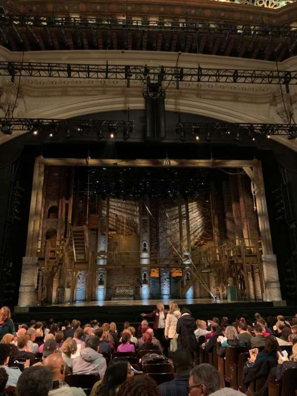 Orpheum Theatre (San Francisco), secção: Orchestra LC, fila: R, lugar: 101-103
