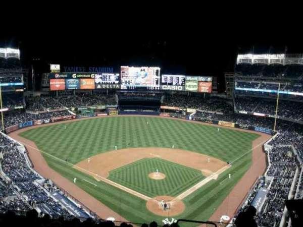 Yankee Stadium, secção: 420c, fila: 10, lugar: 5
