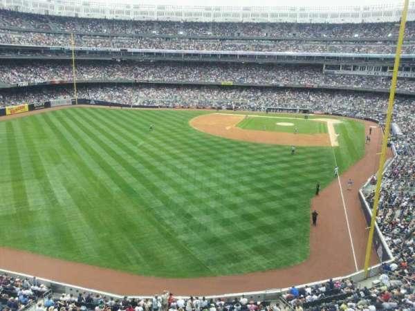 Yankee Stadium, secção: Audi Yankees Club, fila: 1, lugar: 2