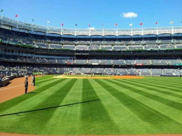 Yankee Stadium, secção: 106, fila: 10, lugar: 2