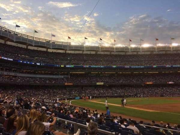Yankee Stadium, secção: 112, fila: 14, lugar: 15