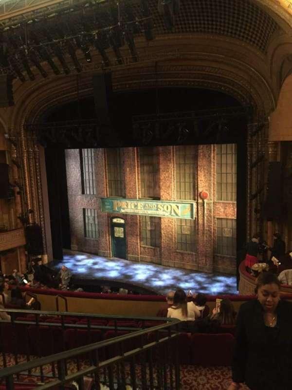 Al Hirschfeld Theatre, secção: Mezzanine R, fila: J, lugar: 20