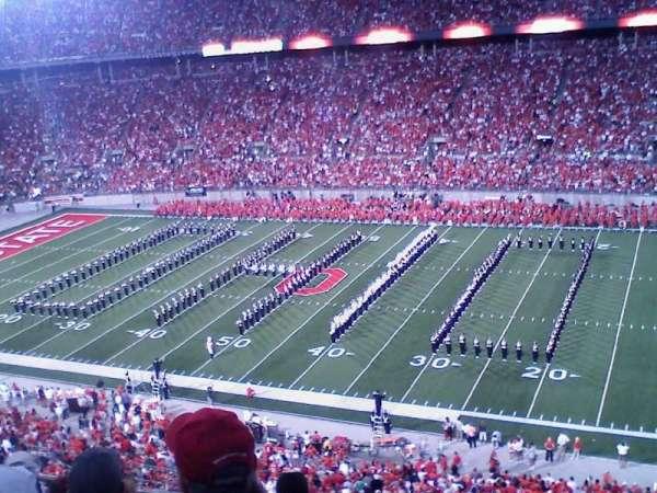 Ohio Stadium, secção: 16C, fila: 19, lugar: 25