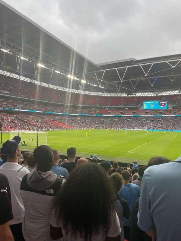 Wembley Stadium, secção: 109, fila: 16, lugar: 210