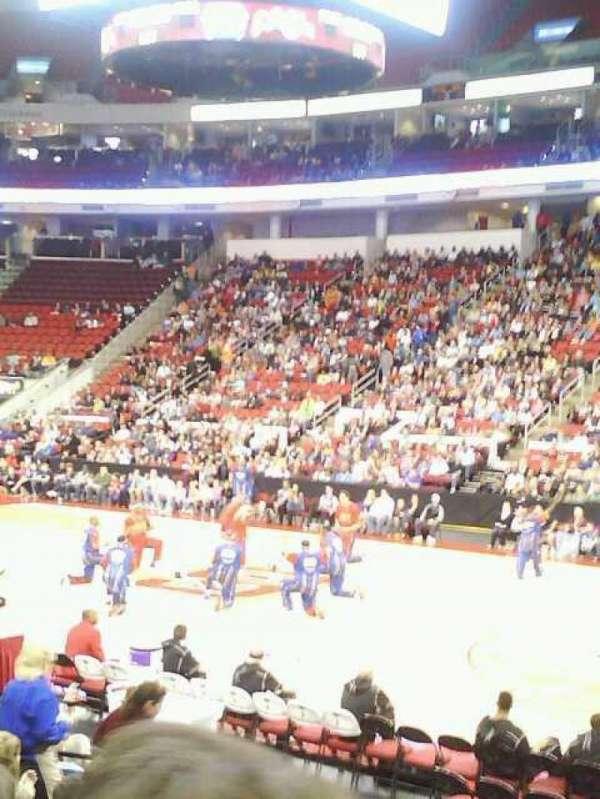 PNC Arena, secção: 117, fila: L, lugar: 3