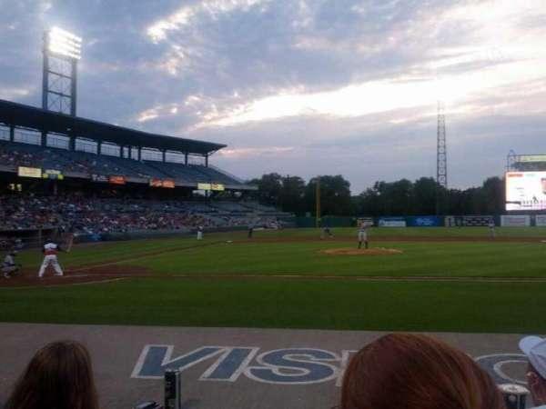 NBT Bank Stadium, secção: 107, fila: 3, lugar: 7