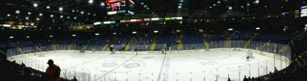 Santander Arena, secção: 104, fila: N, lugar: 2