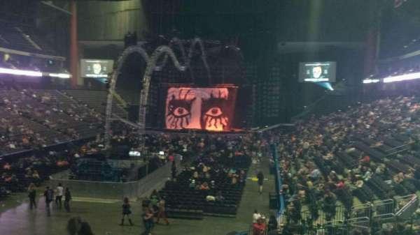VyStar Veterans Memorial Arena, secção: 107, fila: T, lugar: 21
