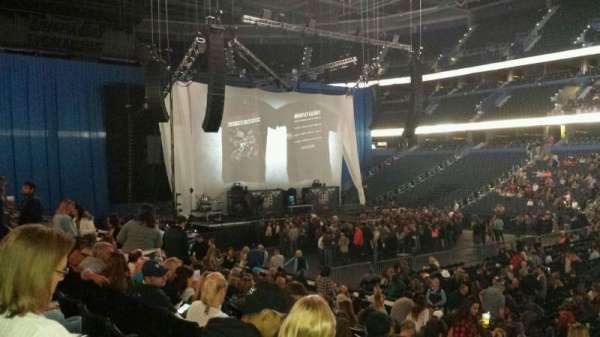 Amalie Arena, secção: 112, fila: S, lugar: 24