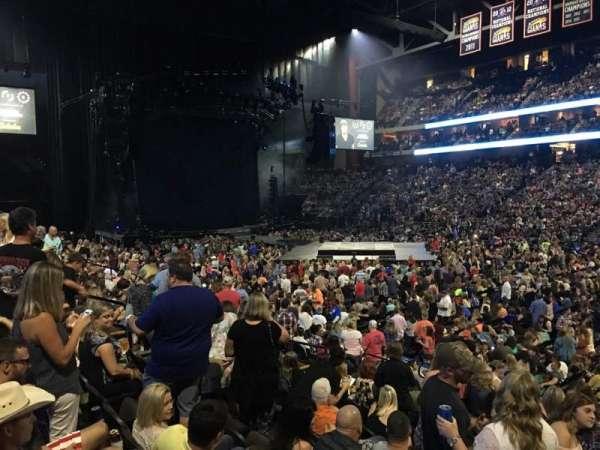 VyStar Veterans Memorial Arena, secção: 113, fila: M, lugar: 5