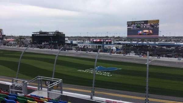 Daytona International Speedway, secção: 158, fila: 11, lugar: 11