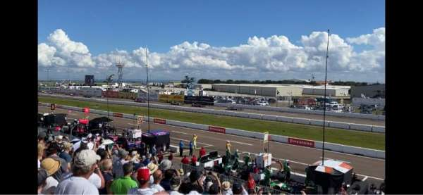 Indy Car Road Coarse St. Petersburg, secção: Grand Stand 7, fila: 25