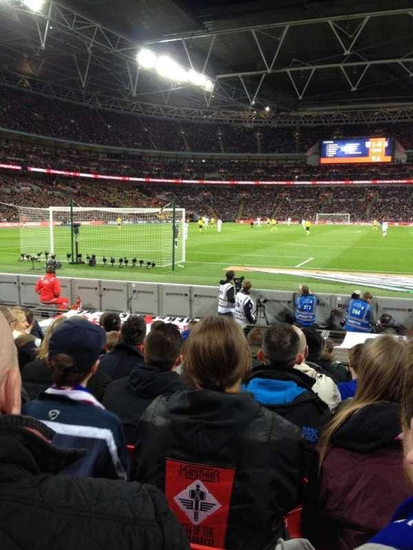 Wembley Stadium, secção: 135, fila: 3, lugar: 33