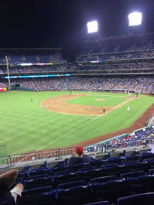 Citizens Bank Park, secção: 235, fila: 6, lugar: 23