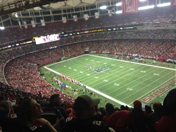 Georgia Dome, secção: 314, fila: 20, lugar: 21