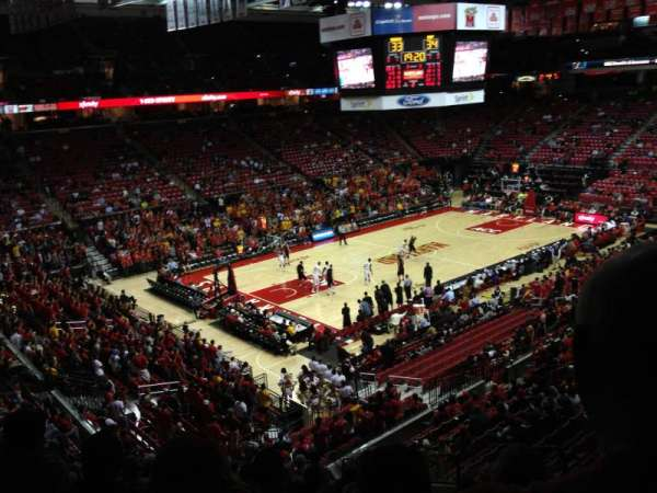 Xfinity Center (Maryland), secção: 118, fila: 17, lugar: 5