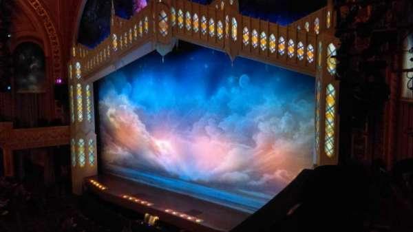 Eugene O'Neill Theatre, secção: Mezzanine R, fila: B, lugar: 28