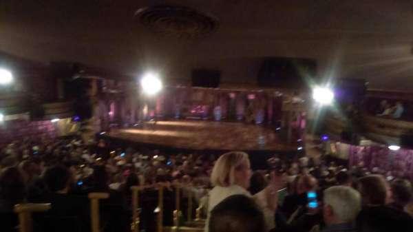 Richard Rodgers Theatre, secção: Standing Room Only, fila: 1, lugar: 2