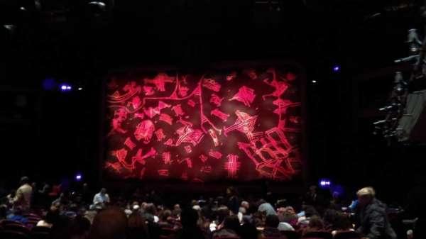 Minskoff Theatre, secção: Orchestra C, fila: Y, lugar: 130
