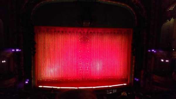 New Amsterdam Theatre, secção: Mezzanine C, fila: GG, lugar: 114