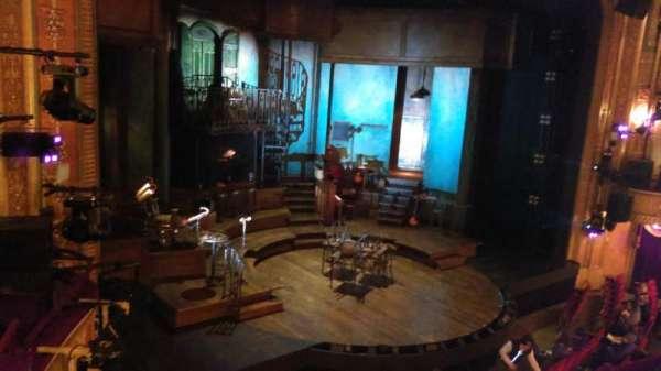 Walter Kerr Theatre, secção: Mezzanine L, fila: C, lugar: 19