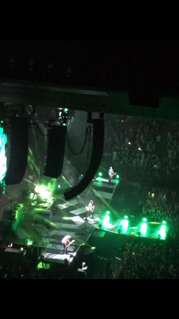 Madison Square Garden, secção: 223, fila: 22, lugar: 16