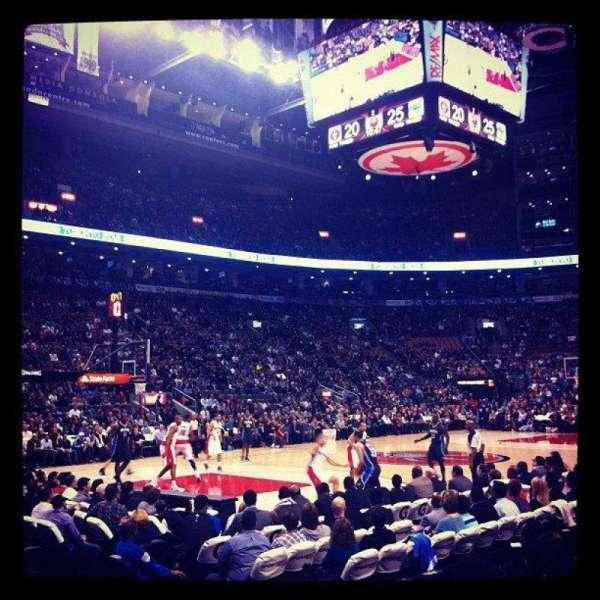 Scotiabank Arena, secção: 121, fila: 6, lugar: 7