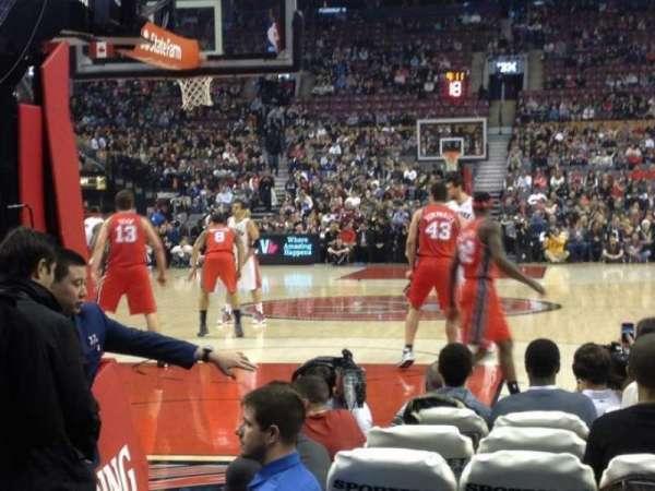 Scotiabank Arena, secção: 113, fila: 5, lugar: 7