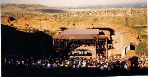 Red Rocks Amphitheatre, secção: Very tip top