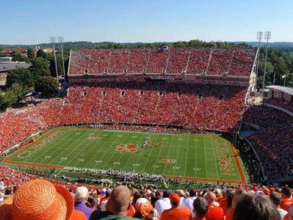 Memorial Stadium, Clemson, secção: R, fila: MM