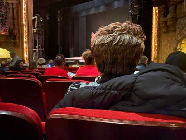 Coronado Theatre, secção: OR1, fila: L, lugar: 3