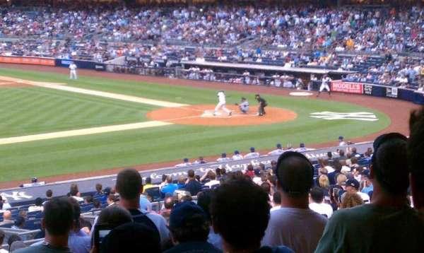 Yankee Stadium, secção: 125, fila: 29, lugar: 10