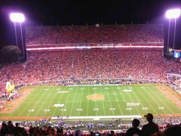Memorial Stadium, Clemson, secção: TDO, fila: T, lugar: 19