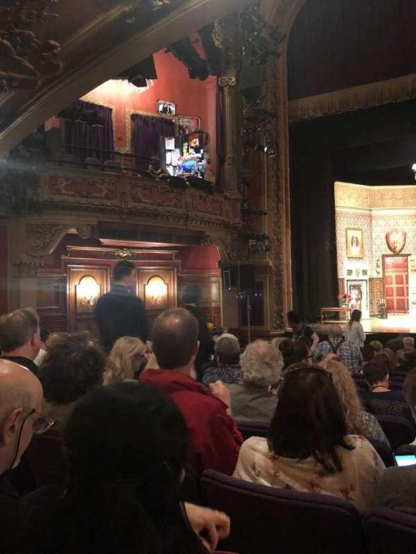Lyceum Theatre (Broadway), secção: Orchestra C, fila: N, lugar: 111