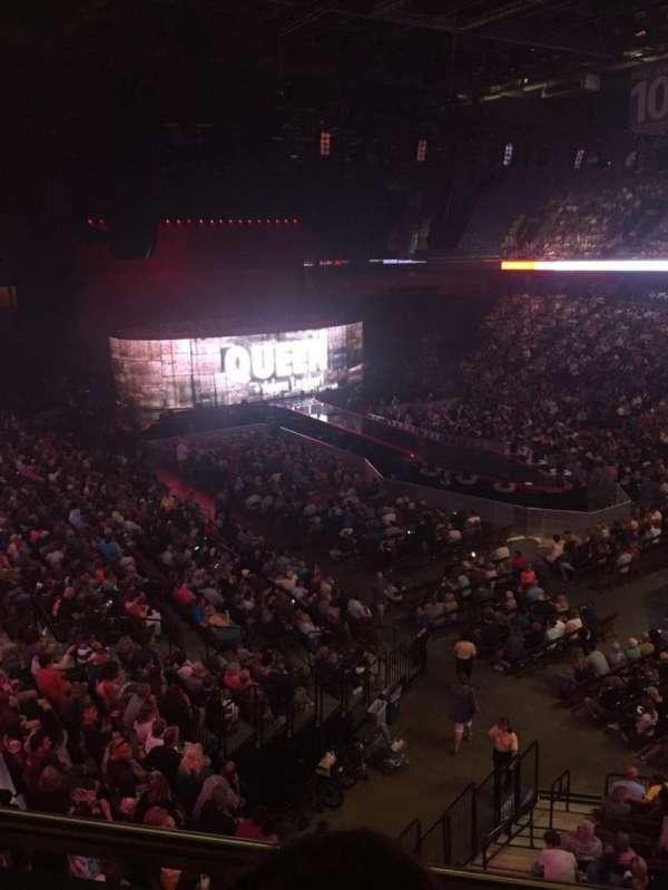 Mohegan Sun Arena, secção: 115, fila: B, lugar: 8