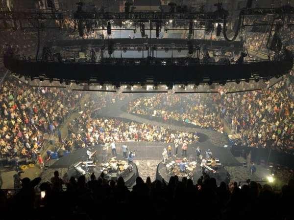 Mohegan Sun Arena, secção: 101, fila: M, lugar: 13