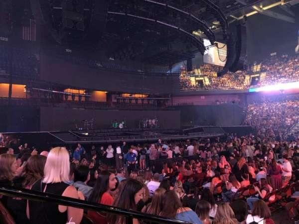 Mohegan Sun Arena, secção: 24, fila: G, lugar: 20