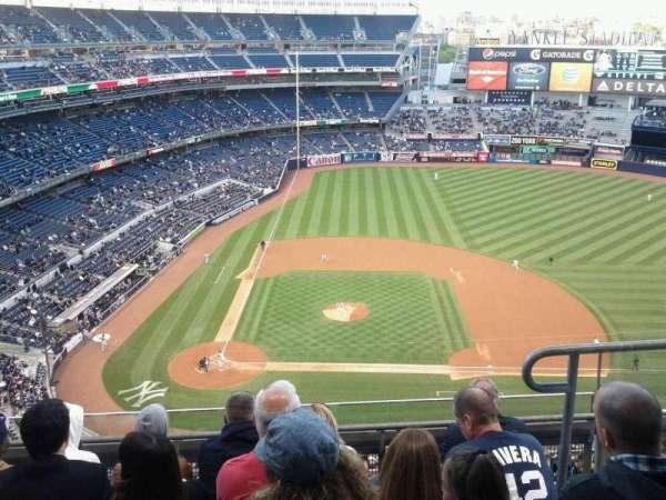 Yankee Stadium, secção: 417, fila: 5, lugar: 3